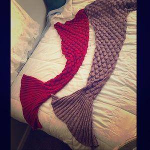 Mermaid Tail Lap Blankets